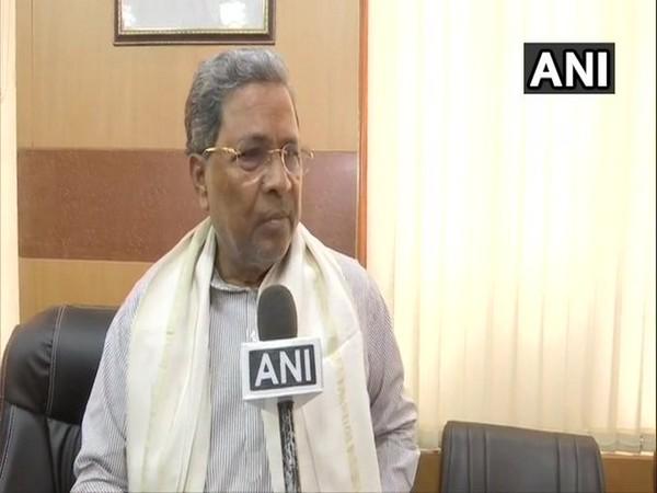 Former Karnataka Chief Minister and senior Congress leader Siddaramaiah (File photo/ANI)