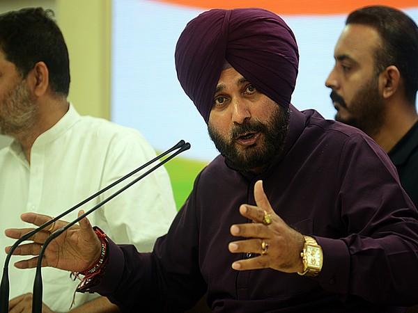 Congress leader Navjot Singh Sidhu. (File pic).