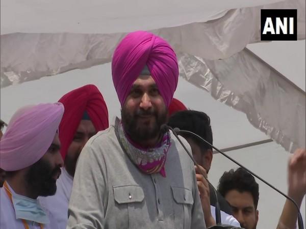 Punjab Congress leader Navjot Singh Sidhu. [File Photo/ANI]