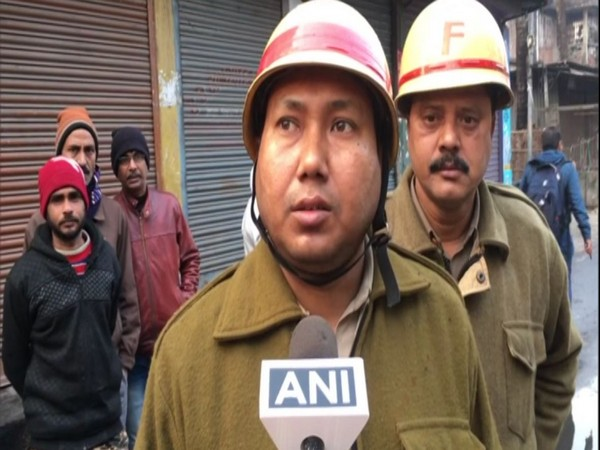 BJP Yuva Morcha takes out protest march against party worker killing in Siliguri (Photo/ANI)