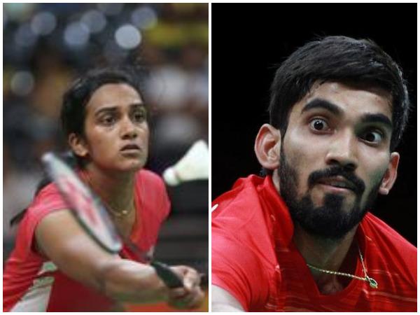 Sindhu and Srikanth