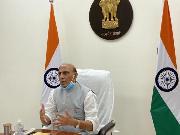 Union Defence Minister, Rajnath Singh (Photo/ANI)
