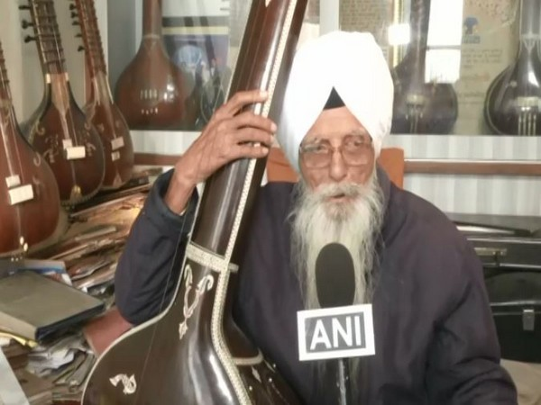 Gurbani singer, Kartar Singh (Photo/ANI)