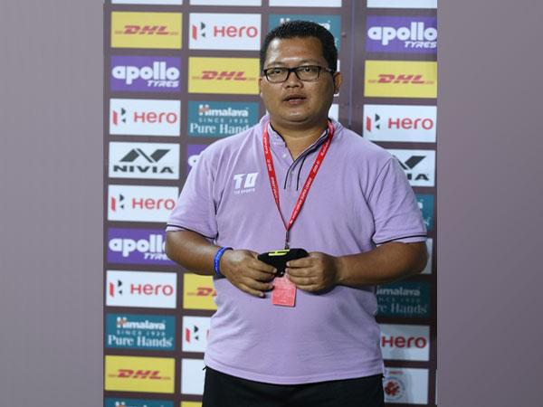 Hyderabad FC assistant coach Thangboi Singto (Photo/ Sportzpics)
