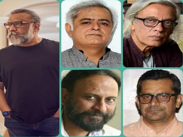Filmmakers Anubhav Sinha, Hansal Mehta, Sudhir Mishra, Ketan Mehta, and Subhash Kapoor (Image source: Instagram)