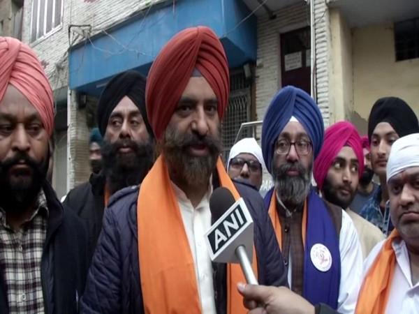 Manjinder Singh Sirsa speaking to ANI in New Delhi on Sunday.