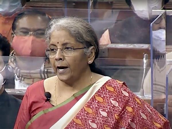 Finance Minister Nirmala Sitharaman in New Delhi on Monday