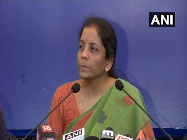 File Pic of Nirmala Sitharman