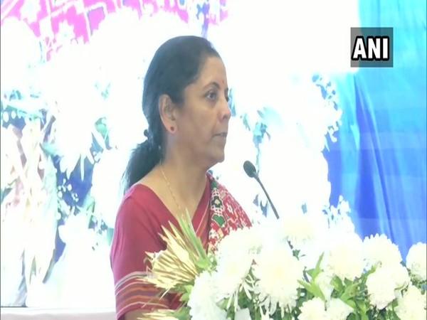 Finance Minister Nirmala Sitharaman in Mumbai on Friday