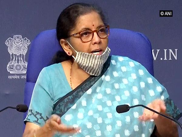 Union Finance Minister Nirmala Sitharaman [File Photo/ANI]