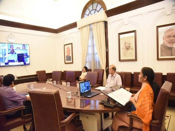 Sitharaman outlined various measures taken in India to respond to the health crisis as well as to mitigate its impact.