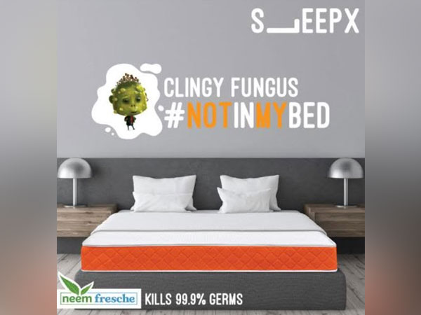 SleepX #NotInMyBed campaign