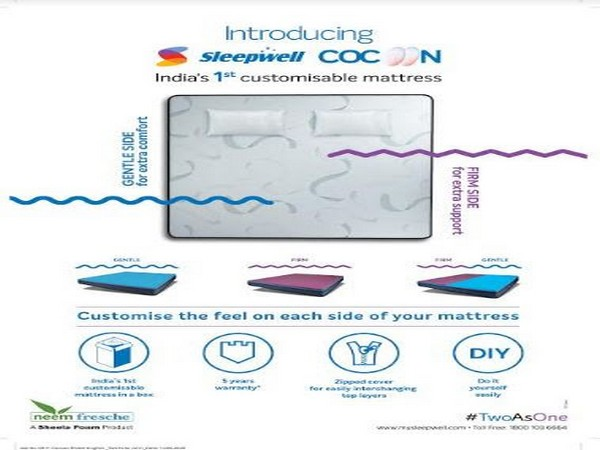 Sleepwell presents Cocoon mattress