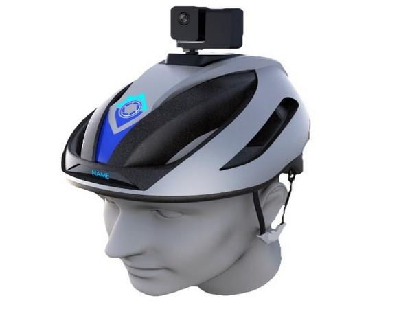 Proxgy Patented Smart Helmet