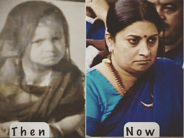 Smriti Irani's new Instagram post (Image Source: Instagram)