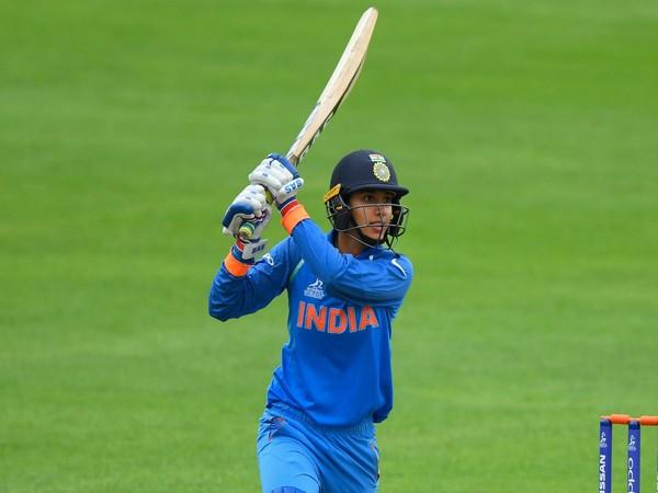India's opening batswoman Smriti Mandhana