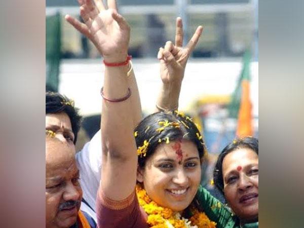 BJP leader Smriti Irani. Photo/ANI