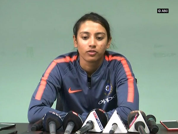 India's stand in captain Smriti Mandhana (ANI Picture)