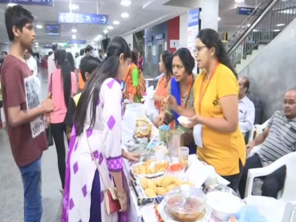 Visual from the International Snack Festival in Hyderabad. Photo/ANI