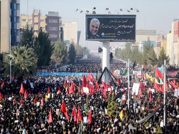 Death toll from Kerman stampede rises to over 50 during slain Iranian military commander Qassem Soleimani's mourning.