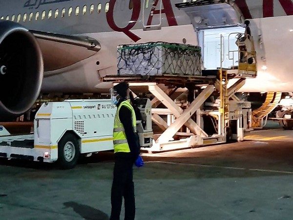 Made-in-India vaccines being airlifted for Somalia (Twitter)