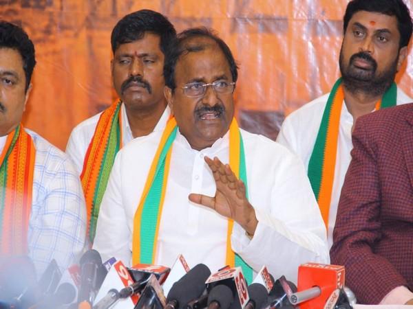 Andhra Pradesh BJP President Somu Veerraju (Photo/ANI)
