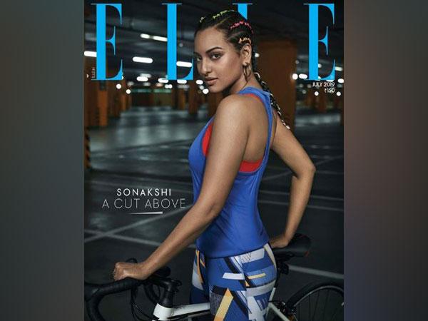 Sonakshi Sinha on magazine cover (Image Courtesy: Instagram)