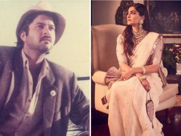 Sonam Kapoor shares throwback picture of father Anil Kapoor from his movie 'Mr. India' in social media on Friday (Image courtesy: Instagram)