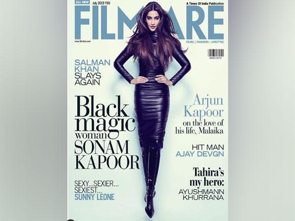 Sonam Kapoor Ahuja on the July edition of Filfare magazine (Image courtesy: Instagram)