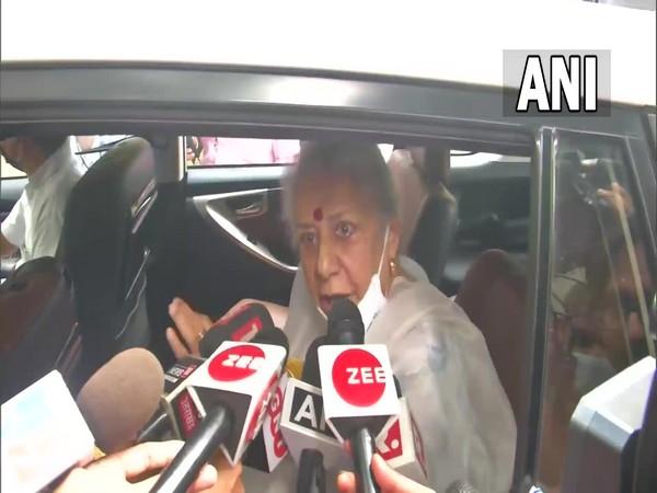Congress MP Ambika Soni. (Photo/ ANI)