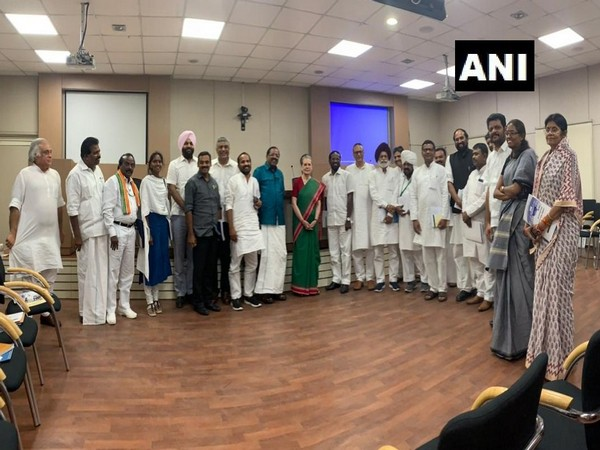 UPA Chairperson Sonia Gandhi at orientation programme for first time MPs