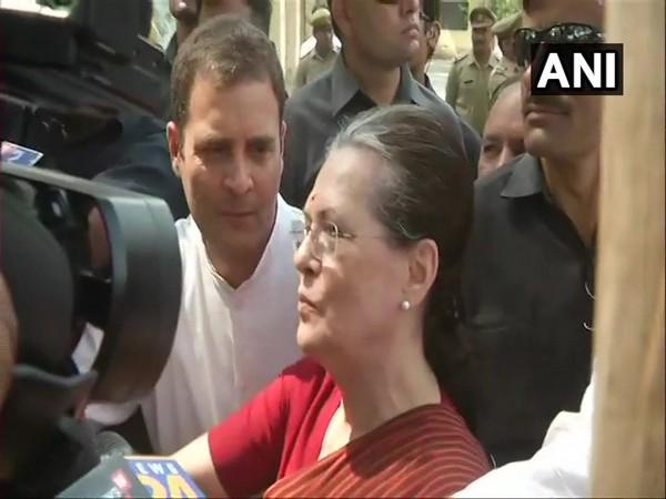 Sonia's Gandhi winning margin has plummeted to 167178 from 352713 (Source: ANI)