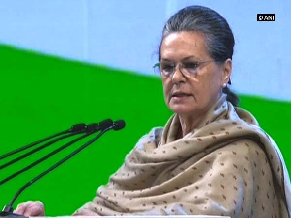 Congress interim President Sonia Gandhi. File photo/ANI
