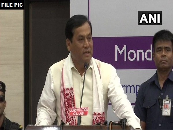 Chief Minister of Assam Sarbananda Sonowal (file pic)