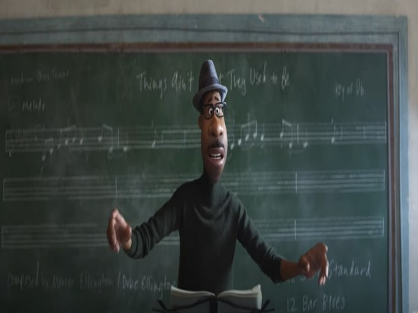 Still from the teaser video of 'Soul' featuring lead character Joe Gardner (Image source: YouTube)