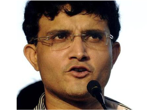 India's former captain Sourav Ganguly