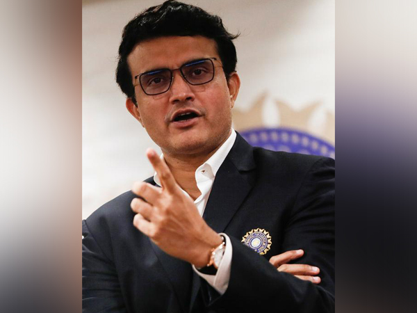 BCCI president and former India captain Sourav Ganguly (file photo)