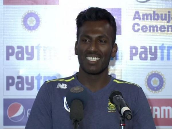 South Africa bowler Senuran Muthusamy