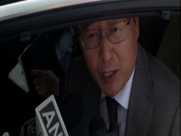 Republic of Korea Ambassador to India Shin Bongkil in Delhi (photo/ANI)