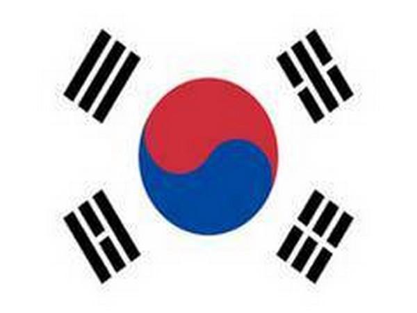Flag of South Korea.