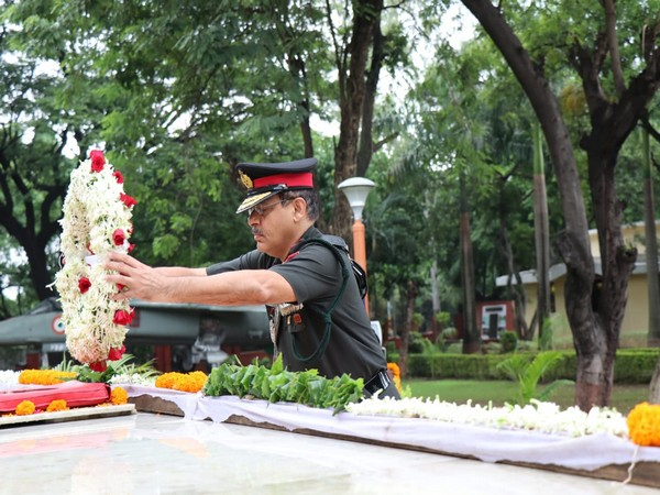 A wreath laying ceremony was held at War Memorial here to pay homage to the martyrs.