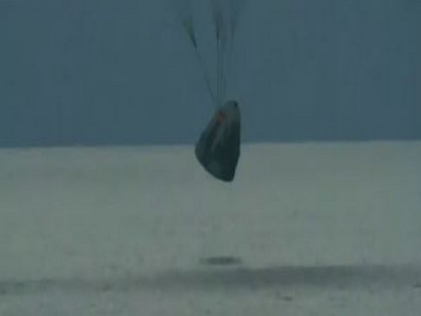 Four SpaceX tourists returned to Earth from a three-day extra-terrestrial excursion. (SpaceX)