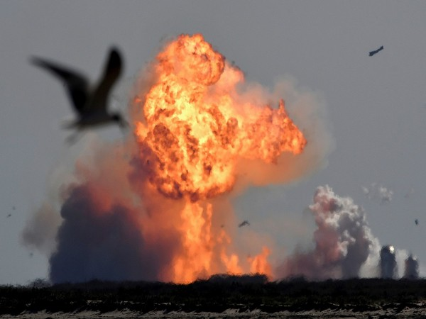SpaceX rocket explodes (Photo Credit - Reuters)