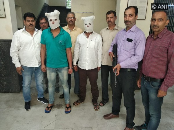 Delhi Police Special Cell nabs two notorious criminals (Phot/ANI)