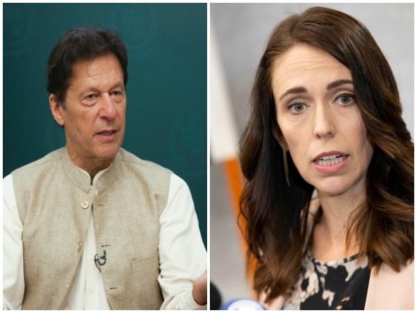 Pakistan and New Zealand Prime Ministers Imran Khan and Jacinda Ardern. (Photo Credit: Reuters)