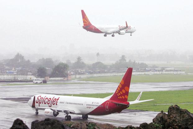 SpiceJet operates 516 average daily flights to 60 destinations