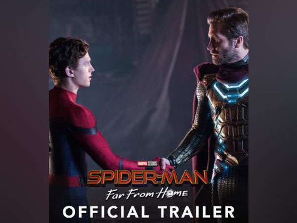 Latest trailer Poster of 'Spider-man: Far From Home'