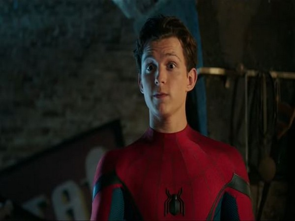 Actor Tom Holland in 'Spider-Man: Far From Home'