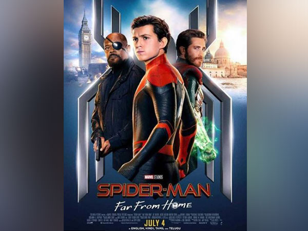 'Spider-Man: Far From Home' poster