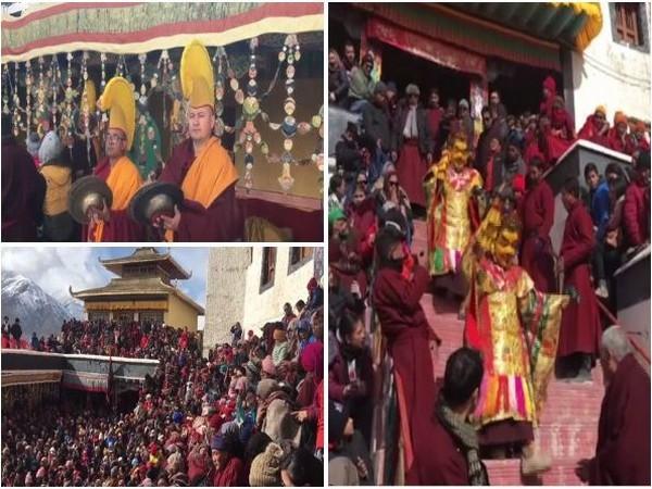 Spituk Gustor Festival 2020 brightens Ladakh with colour
